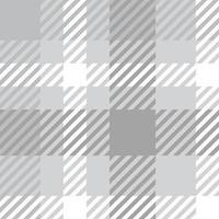 Seamless check monocrom pattern. Textile tartan plaid swatch vector