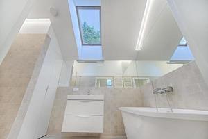 baño en blanco foto