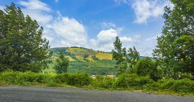 paisaje en croacia, europa foto