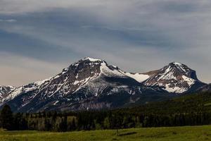 Views of the Castle Mountain Range photo