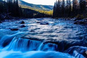 Parque provincial del río Sheep, Alberta, Canadá foto