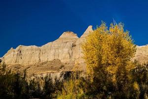 Views on a drive through the badlands photo