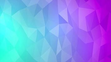 Geometric gradient abstract background video