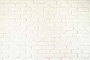 A white brick wall texture photo