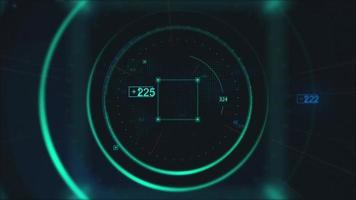 Modern technology digital pattern abstract background video