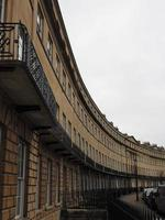Norfolk Crescent row of terraced houses in Bath photo