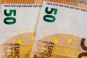 detail of the 50 euro banknote photo