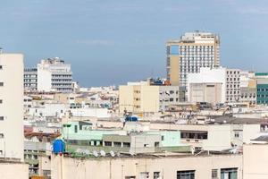 Edificios en el barrio de Copacabana en Río de Janeiro - Brasil foto
