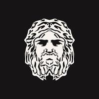Zeus Triton Neptune design vector