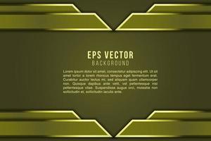vector de eps de fondo abstracto amarillo. resplandor de fondo. brillante