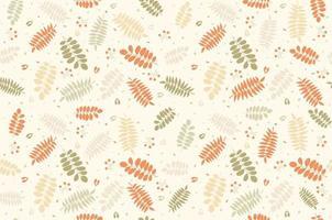 ramita de patrones sin fisuras. naturaleza. sale de. version ligera. vector
