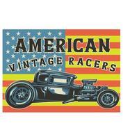 hotrod car american vector