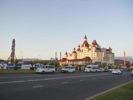 Hotel Bogatyr in Adler city, Russia, 2019 photo