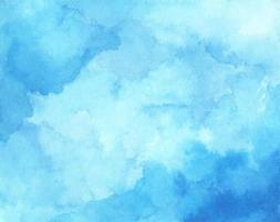 Abstract light blue watercolor for background. vector