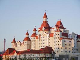 Adler, Russia - August 2019 - Hotel Bogatyr in Adler city photo