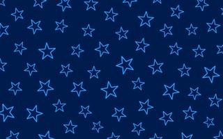 Blue Background With Star Light vector