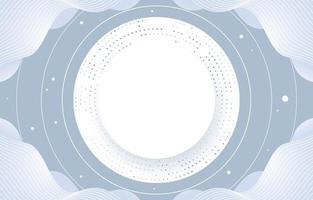 White Circle Elegant Background vector