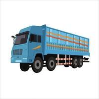 Truck Flat Color Clip art design vector