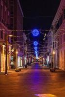 Cornelio Tacito Terni course with Christmas lights photo