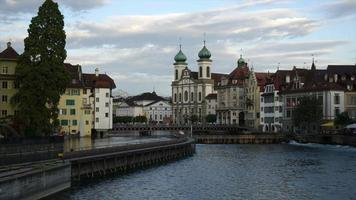 Timelapse Lucerne City in Switzerland video