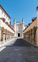 Basilica of Santa Rita da Cascia on a sunny day photo
