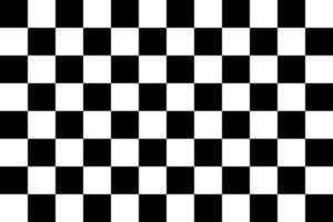 Checkered flag. Racing logo. Vecot illustration in flat design vector