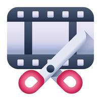 Film Reel and Camera vector
