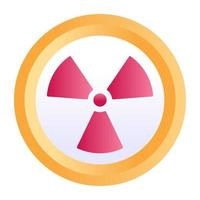 Radiation and radiotherapy vector