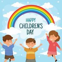 Happy Children Day Background vector