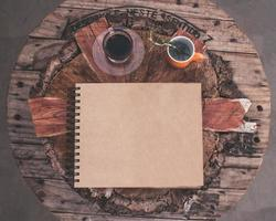 caderno cafe leandro photo