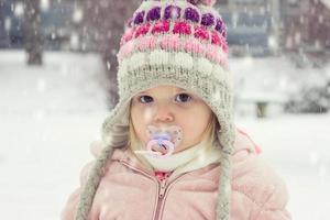 retrato de un niño pequeño foto