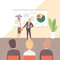 Business training Guest lecturer corporate training vector