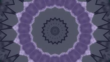 gris anthracite doux avec anneau d'accent violet fond kaléidoscope étoile video