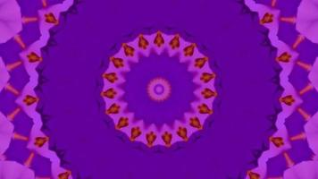 Vivid Amethyst Gradient Kaleidoscope Background video