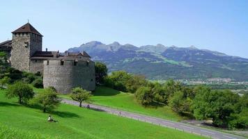 castello di vaduz nel liechtenstein video