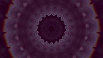 violet mauve dégradé avec fond de kaléidoscope d'anneau de chrominance video