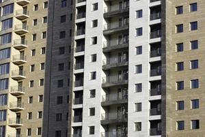 edificio moderno en la ciudad foto
