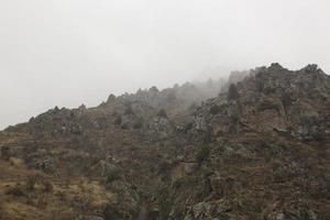 Mountain View tiene una hermosa niebla matutina foto