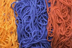 hilo en colores de la bandera de armenia foto