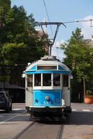 Carrito vintage en el centro de Memphis, Tennessee foto