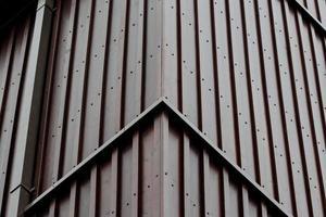fachada de esquina de revestimiento foto