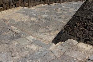 escalones de piedra griegos foto