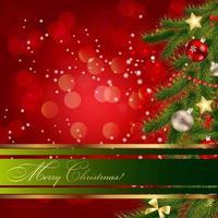 Fondo de Navidad y año nuevo de belleza abstracta. ilustración vectorial vector