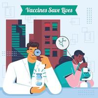 Scientists Research for Powerful Vaccine vector