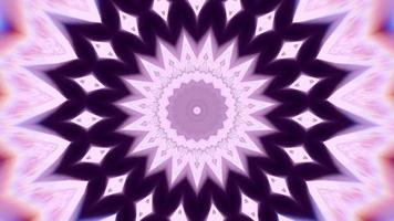Violet Ringed Star Over a Defocused Pink Shades video