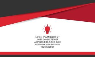 Creative Red Cover Background With Curves vector