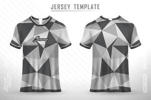 Sports jersey and t-shirt template sports jersey design vector mockup