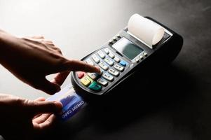 Credit card payment, buy and sell products photo
