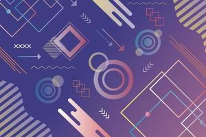 Abstract  geometric futuristic background  design vector