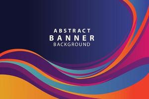 Abstract  banner background  design vector